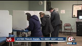 Voter fraud panel to meet next week - Video