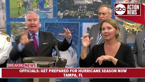 City of Tampa officials ask residents to prepare now for upcoming hurricane season | News Conference