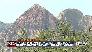 Hiker falls to his death at Red Rock Canyon - Video