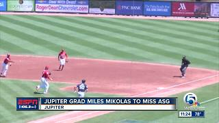 Cardinals pitcher, Jupiter native, Miles Mikolas' wife gives birth to twins - Video