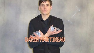 Magician Darin Martineau interview on Arts Alive - Video