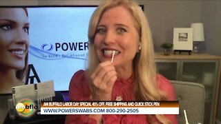 SELF CARE WITH POWER SWABS