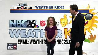 It's Weather Kid Wednesday! - Video