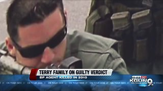 Brian Terry's family speaks after guilty verdict