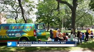 Local nonprofit brings art to children - Video