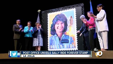 Post Office unveils Sally Ride Forever Stamp