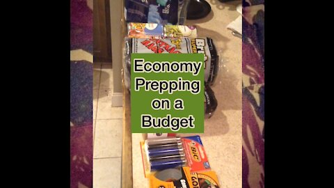 Economy Prepping on a Budget