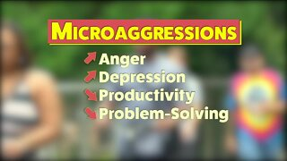 Microaggressions: Did you really just say that?