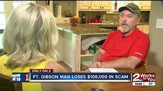 Ft. Gibson man scammed - Video
