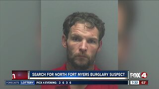 Search for North Fort Myers burglary suspect continues