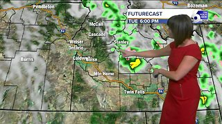 Rain in the mountains Tuesday but mild and dry across the Treasure Valley