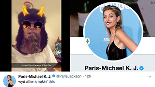 Paris Jackson CLAPS BACK At Marijuana Haters On Twitter