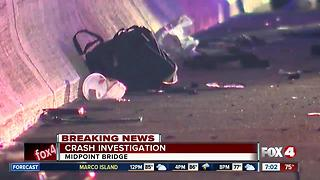Cape Coral Midpoint Bridge Back Open After Early Morning Crash - Video