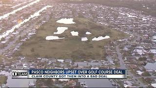 Pasco neighbors upset over golf course deal