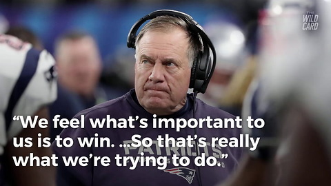 Bill Belichick Responds To 'No Fun' Controversy In The Most Bill Belichick Way