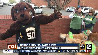 UMBC's brand takes off after historic win - Video