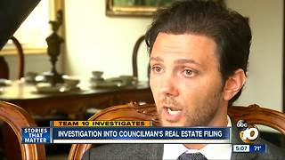Investigation into councilman's real estate filing