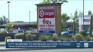 Phoenix working to increase food access