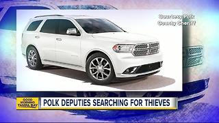Deputies search for SUV, thieves after distraction burglaries - Video