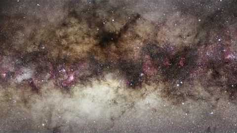 Zoom on the galactic centre