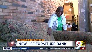 Furniture Bank building tables, collecting plates for people transitioning out of homelessness - Video