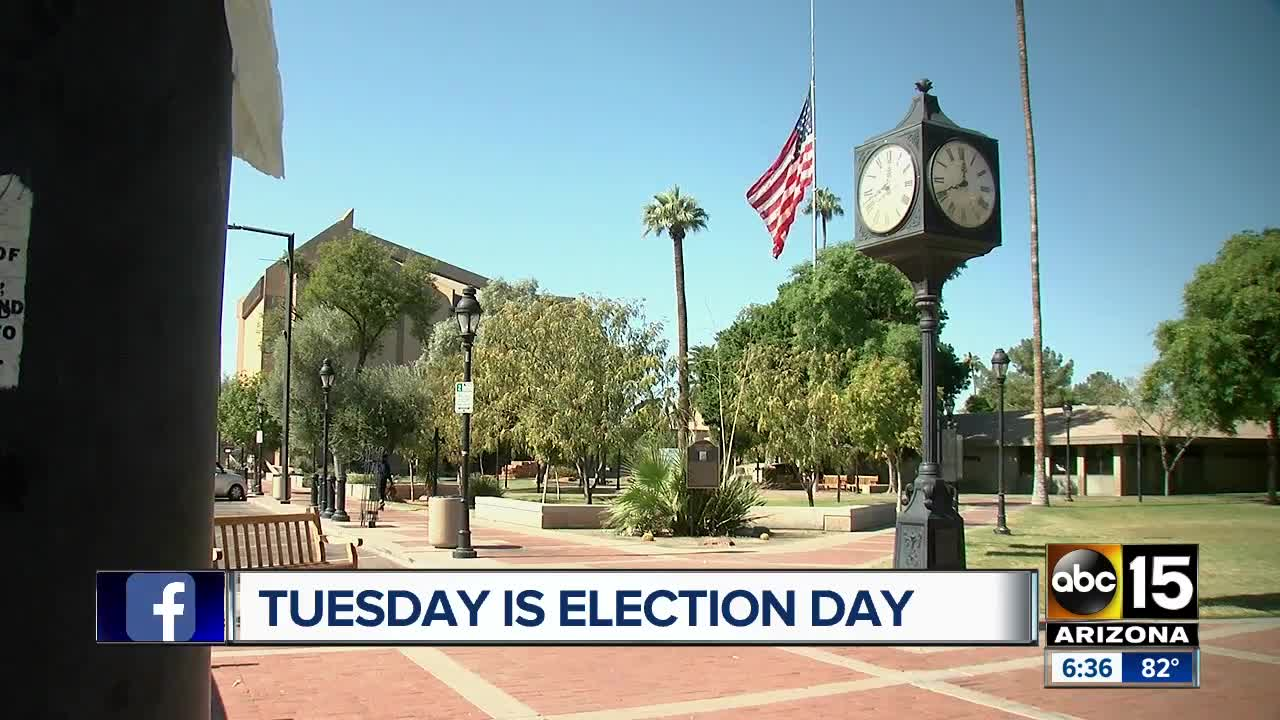 Tuesday is election day across the state of Arizona
