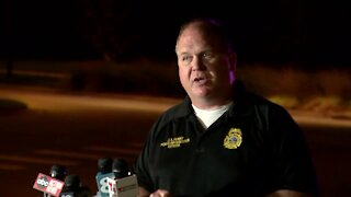 Tampa officials give update on submerged car in pond (FULL PRESS CONFERENCE)