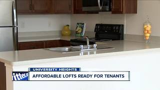 Finally affordable lofts in Buffalo with parking - Video
