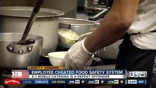 Dirty Dining: Employee cheats food safety system - Video