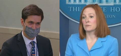 Psaki Forced to Directly Contradict Biden After He Spreads Misinformation