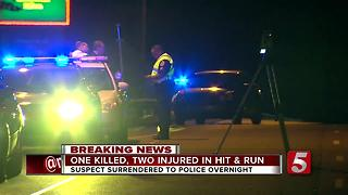 Driver Charged After Fatal Hit-&-Run In Donelson - Video