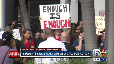 West Boca Raton students demand change in letters to Congress