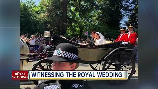 Witnessing the Royal Wedding