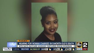 Daycare provider charged in infant's death due in court Thursday - Video