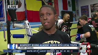 Nonprofit boxing academy works with local youth in Fort Myers - Video