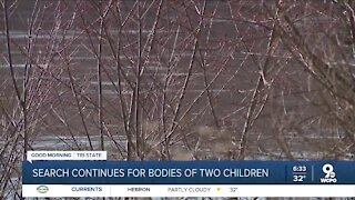 Search for bodies of two boys continues today