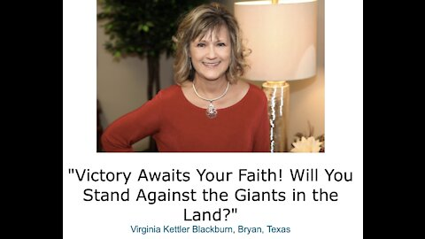 Victory Awaits Your Faith! Will You Stand Against the Giants in the Land