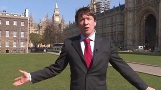 Spoof Reporter Unleashes Budget Fury - Video