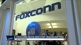 Foxconn moving in to downtown Milwaukee headquarters - Video
