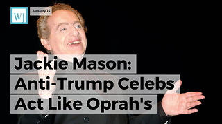 Jackie Mason Anti-trump Celebs Act Like Oprah's Speech Was Better Than The Gettysburg Address