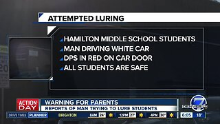 Two attempted child lurings reported near Denver middle school