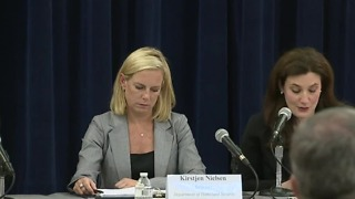 Homeland Security Secretary Kirstjen Nielsen hosts school safety event in Las Vegas