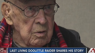 Last living Doolittle Raider shares his story - Video