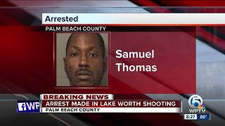 Suspect arrested in July 3 Lake Worth shooting - Video