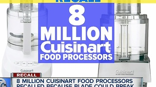Cuisinart recalls food processors - Video