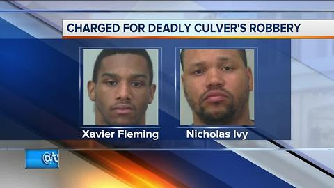 Two charged in deadly Madison Culver's robbery