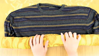 How to easily un-shrink your clothes - Video