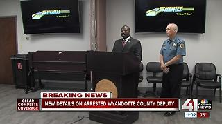 New details on charged former Wyandotte County deputy - Video