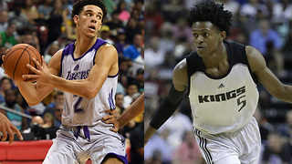 Lonzo Ball SCARED to Face De'Aaron Fox? - Video