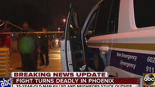 Police investigating deadly shooting in central Phoenix - Video